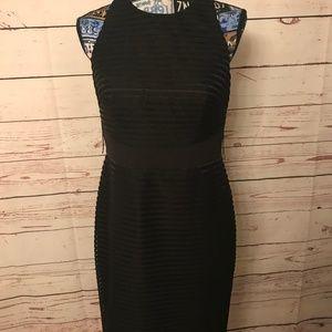 Aiden Mattox black dress